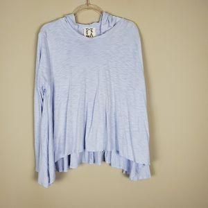 PPLA (PQLA) Lilac Oversized Hoodie Shirt